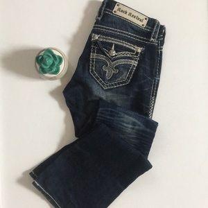 Rock Revival   studded Roselin boot cut jean pant
